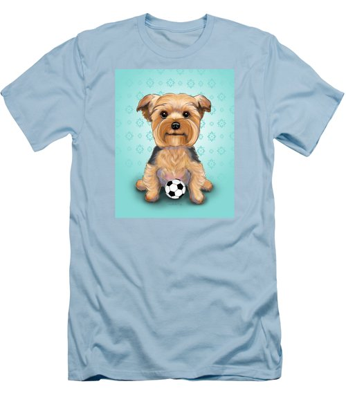 Yorkie  Baxter Hemenway Men's T-Shirt (Athletic Fit)