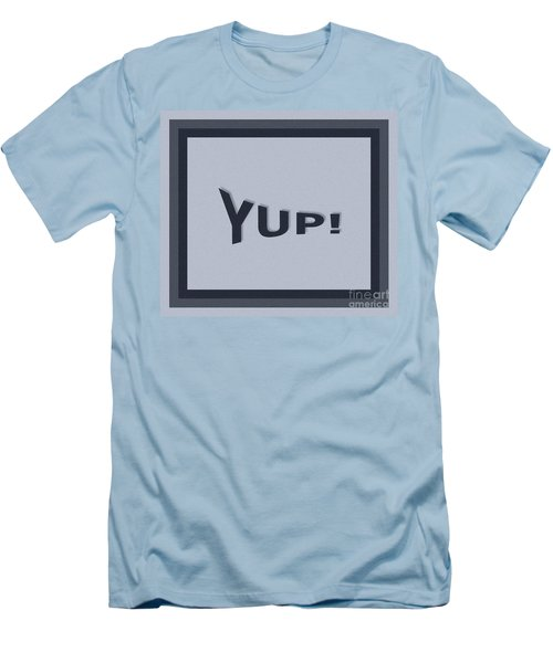Yup Colorized Men's T-Shirt (Athletic Fit)