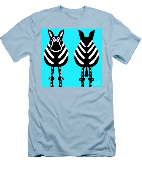Zebra - Both Ends Men's T-Shirt (Athletic Fit)