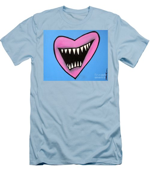 Zombie Heart Men's T-Shirt (Athletic Fit)