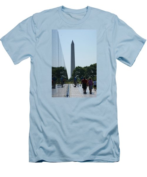 Men's T-Shirt (Slim Fit) featuring the photograph Monument by Heidi Poulin