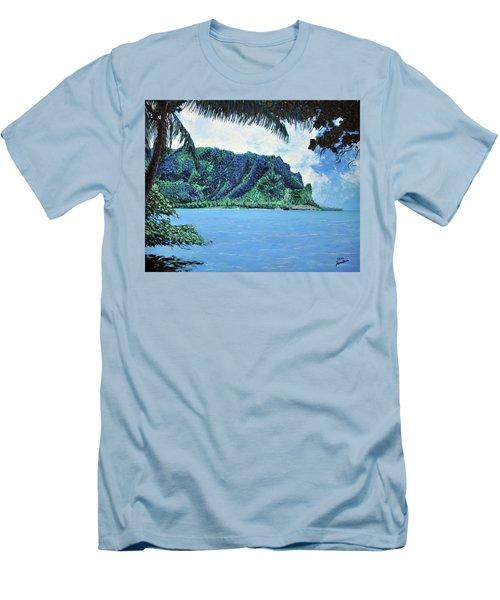 Pacific Island Men's T-Shirt (Slim Fit) by Stan Hamilton