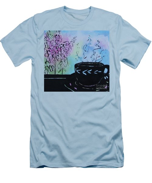 Tea And Snap Dragons Men's T-Shirt (Athletic Fit)