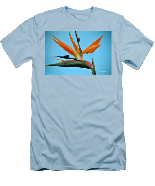A Bird By The Pool Men's T-Shirt (Athletic Fit)