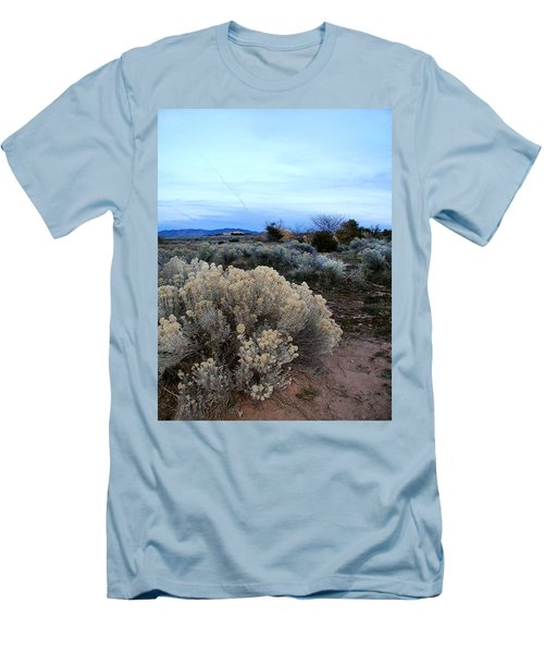 A Desert View After Sunset Men's T-Shirt (Athletic Fit)