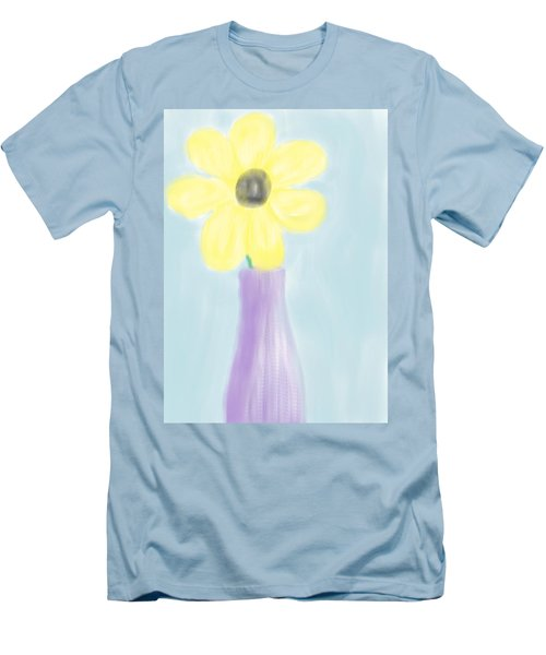 A Flower For Mo Men's T-Shirt (Slim Fit) by Heidi Smith