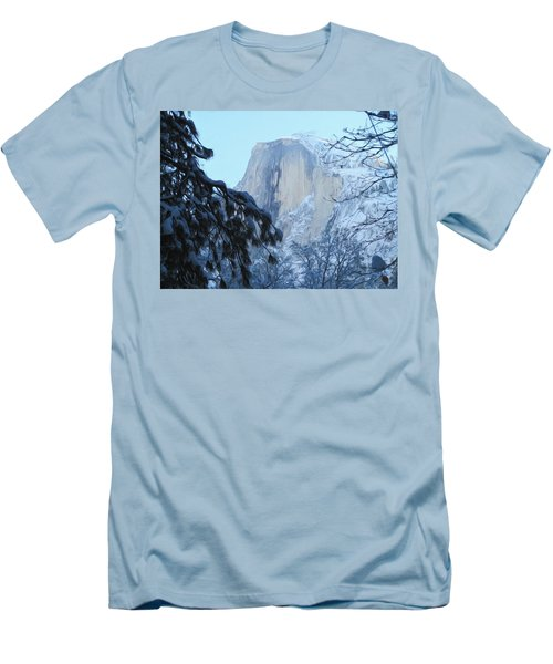 A Glimpse Through The Trees Men's T-Shirt (Slim Fit) by Heidi Smith