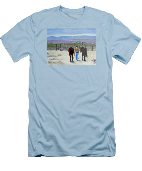 Texas - A Good Ride Men's T-Shirt (Athletic Fit)