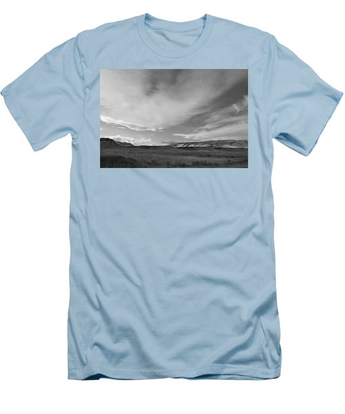 Men's T-Shirt (Slim Fit) featuring the photograph Across The Valley by Kathleen Grace