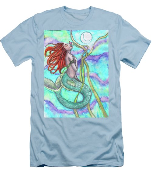 Adira The Mermaid Men's T-Shirt (Athletic Fit)