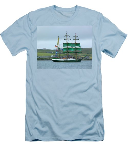 Men's T-Shirt (Slim Fit) featuring the photograph Alexander Von Humboldt by Lynn Bolt