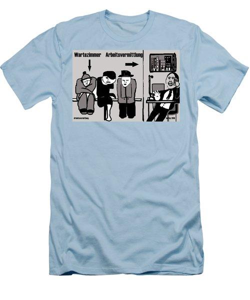 Arbeitsvermittlung Men's T-Shirt (Athletic Fit)