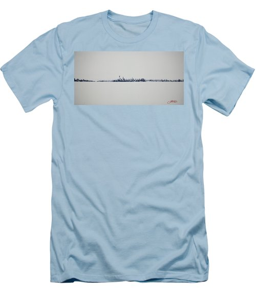 Autum Skyline Men's T-Shirt (Slim Fit)