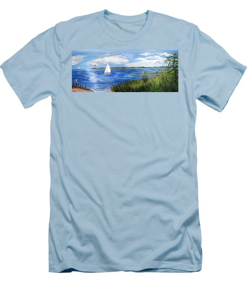 Bayville Marsh Men's T-Shirt (Athletic Fit)