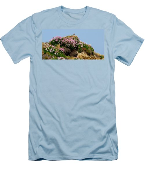Men's T-Shirt (Slim Fit) featuring the photograph Beauty by Barbara Walsh