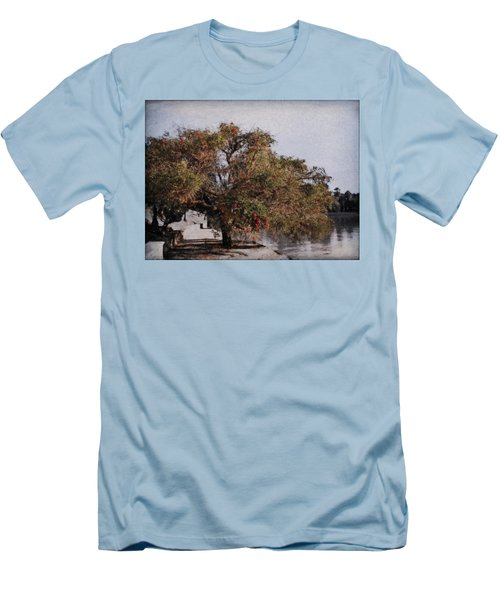 Beauty On The Path Men's T-Shirt (Athletic Fit)