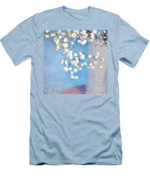 Blue Morning Men's T-Shirt (Slim Fit) by Lyn Randle