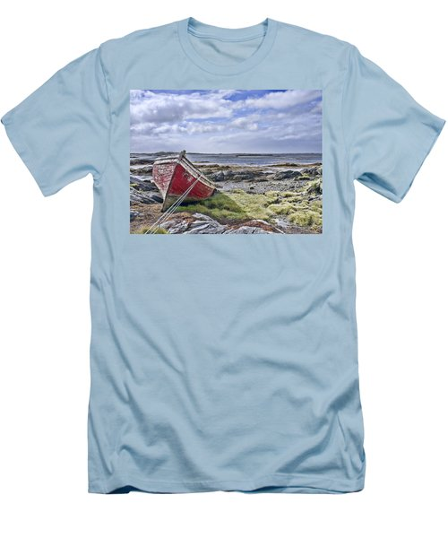 Men's T-Shirt (Slim Fit) featuring the photograph Boat by Hugh Smith