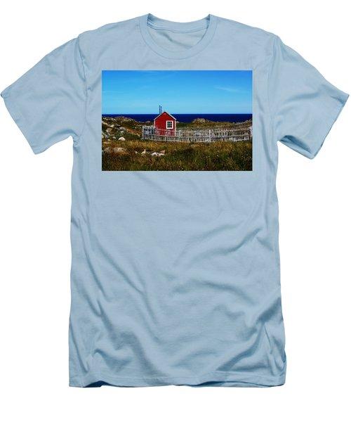 Bonavista Men's T-Shirt (Slim Fit) by Leanna Lomanski
