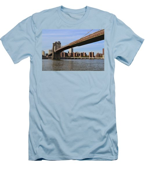 Brooklyn Bridge1 Men's T-Shirt (Athletic Fit)
