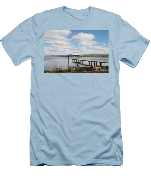 Men's T-Shirt (Slim Fit) featuring the photograph Calm Waters by William Norton