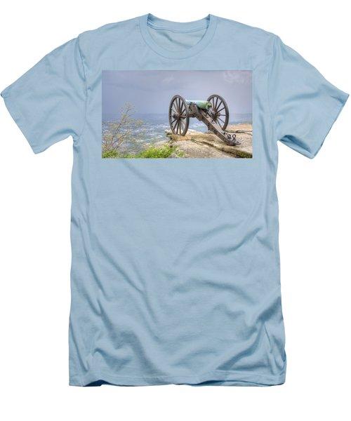 Cannon 2 Men's T-Shirt (Slim Fit) by David Troxel
