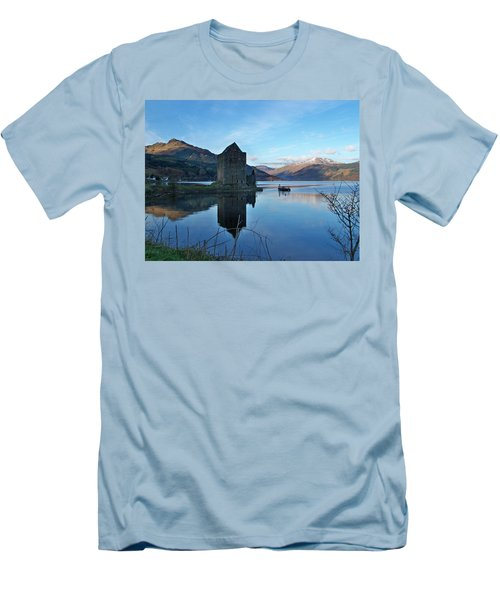 Men's T-Shirt (Slim Fit) featuring the photograph Carrick Castle by Lynn Bolt