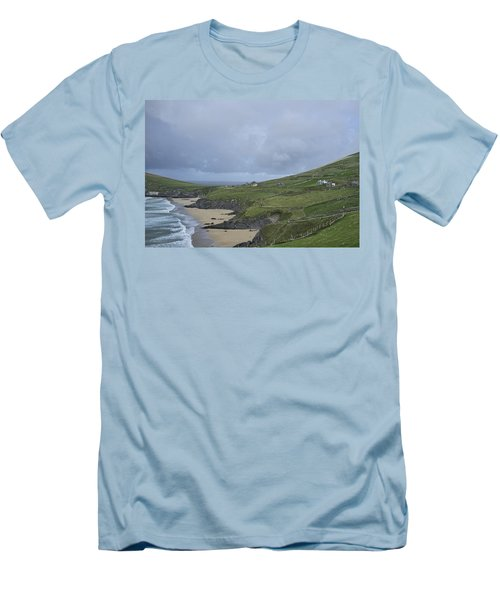 Men's T-Shirt (Slim Fit) featuring the photograph Coastline  by Hugh Smith