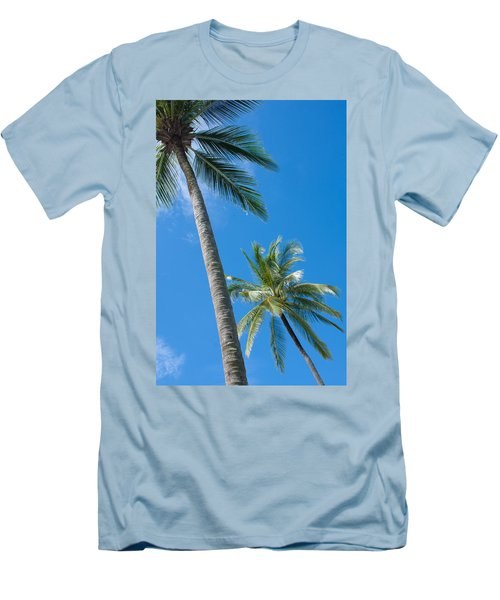 Coconuts  Men's T-Shirt (Slim Fit) by Atiketta Sangasaeng