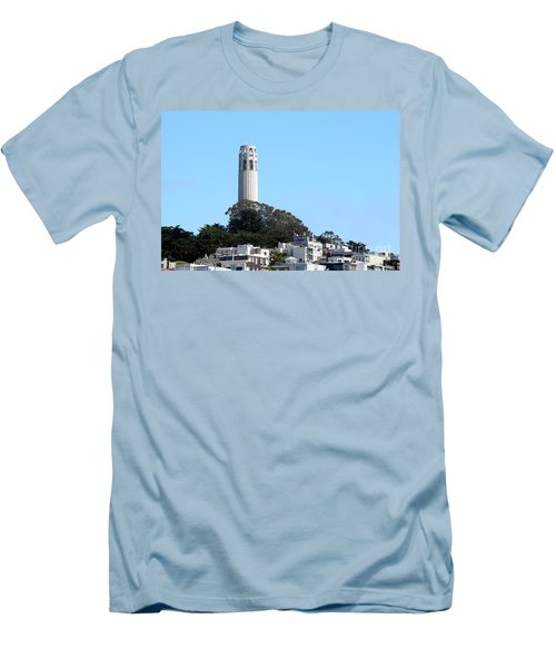 Coit Tower Men's T-Shirt (Athletic Fit)
