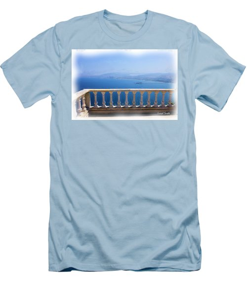 Men's T-Shirt (Athletic Fit) featuring the photograph Do-00492 Saidet El-nourieh by Digital Oil