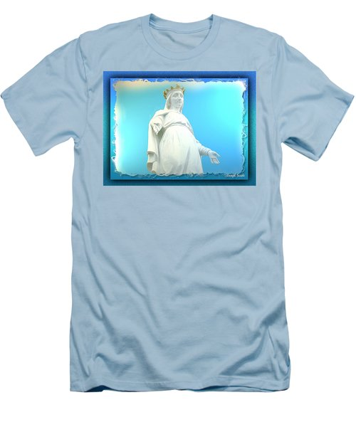 Do-00531 Our Lady Of Lebanon Men's T-Shirt (Athletic Fit)