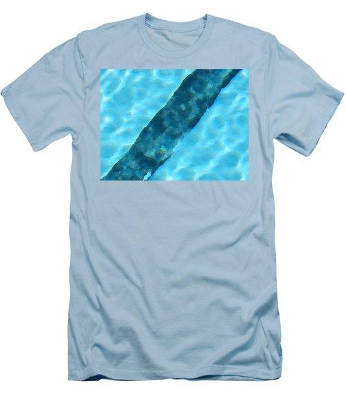 Men's T-Shirt (Slim Fit) featuring the digital art Dream by Richard Laeton