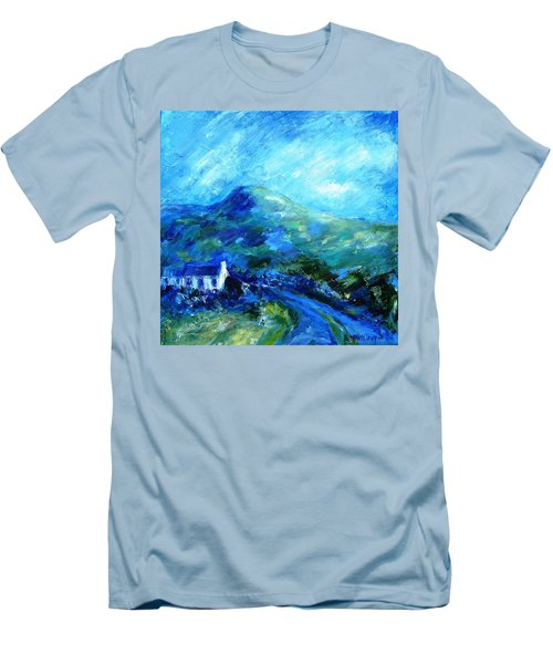 Eagle Hill Lane -ireland  Men's T-Shirt (Athletic Fit)