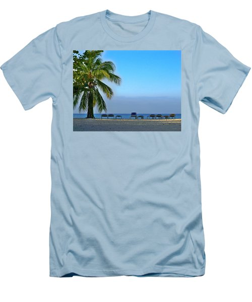 Men's T-Shirt (Slim Fit) featuring the photograph Early Morning Trinidad Cuba by Lynn Bolt