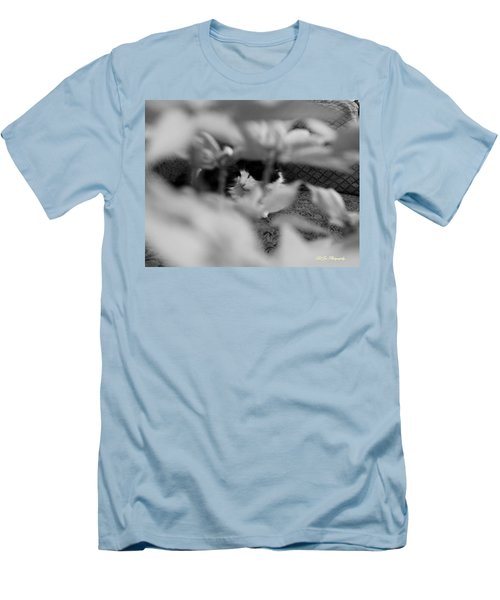 Men's T-Shirt (Slim Fit) featuring the photograph Find The Kitty by Jeanette C Landstrom
