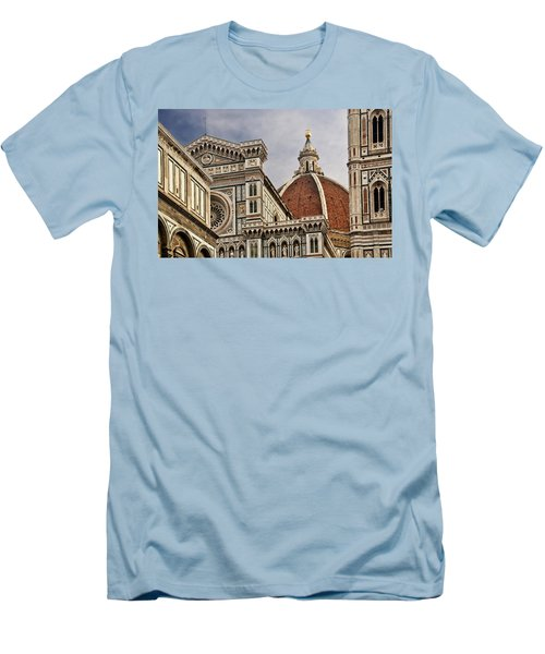 Men's T-Shirt (Slim Fit) featuring the photograph Florence Duomo by Steven Sparks
