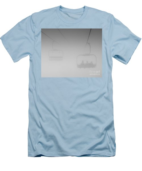 Men's T-Shirt (Slim Fit) featuring the photograph Fog by Eunice Gibb