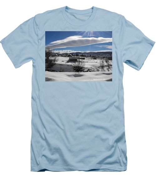 Fortress Of Solitude Men's T-Shirt (Athletic Fit)