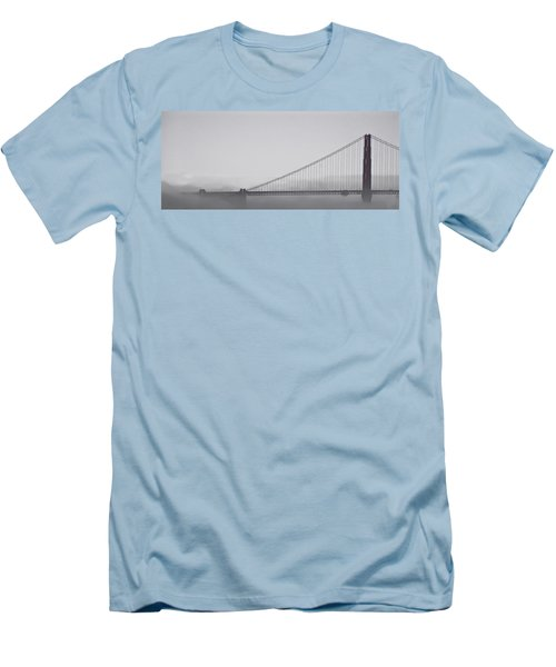 Men's T-Shirt (Slim Fit) featuring the photograph Golden Gate Morning by Don Schwartz