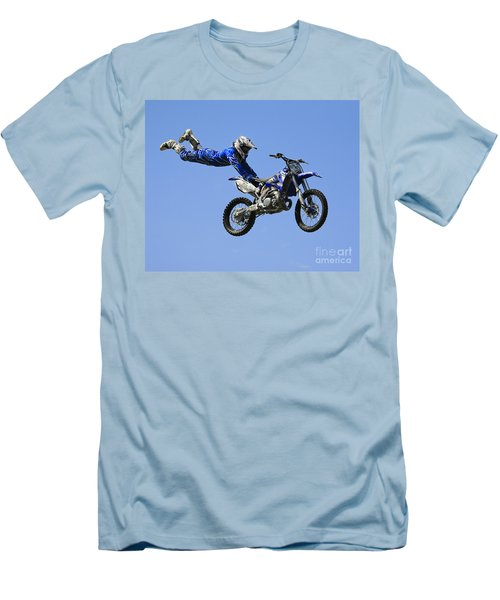 Hanging On Men's T-Shirt (Slim Fit) by Chris Dutton