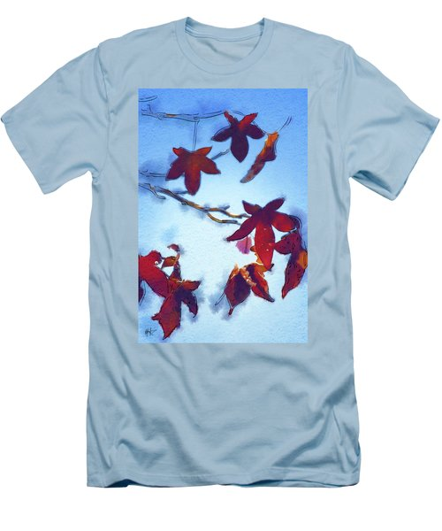 Men's T-Shirt (Slim Fit) featuring the digital art Here Today by Holly Ethan