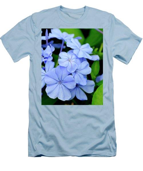 Imperial Blue Men's T-Shirt (Athletic Fit)