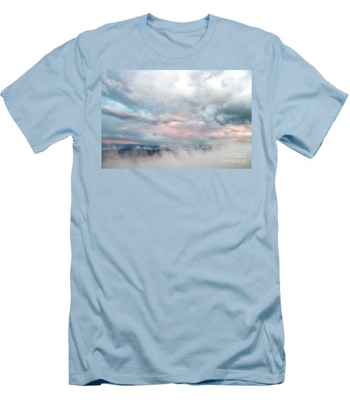 In The Clouds Men's T-Shirt (Slim Fit) by Jeannette Hunt