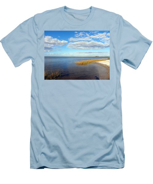 Island Skies Men's T-Shirt (Athletic Fit)