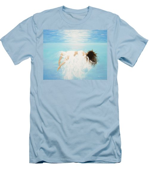 Lady Of The Water Men's T-Shirt (Slim Fit) by Kume Bryant