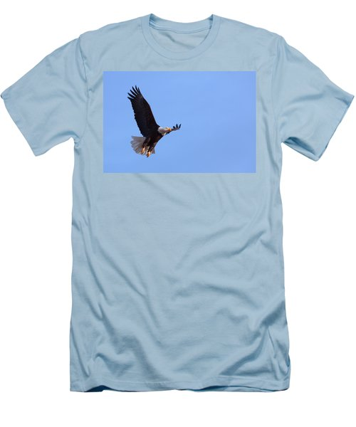 Men's T-Shirt (Slim Fit) featuring the photograph Lift by Jim Garrison