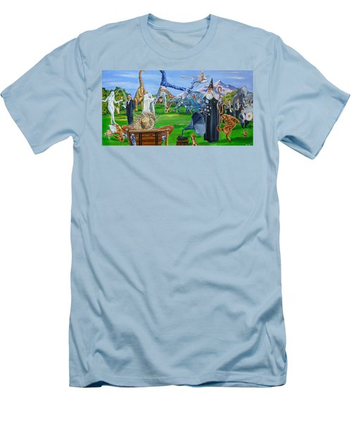 Looking Out My Back Door Men's T-Shirt (Athletic Fit)