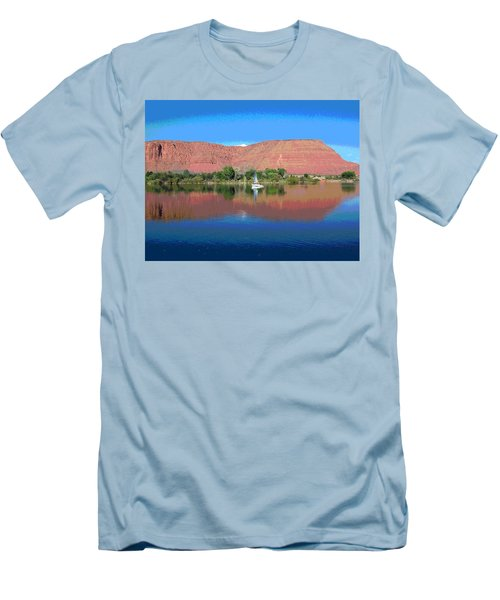Reflections Of Ivins, Ut Men's T-Shirt (Athletic Fit)