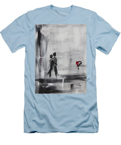 Love Story 1 Men's T-Shirt (Athletic Fit)